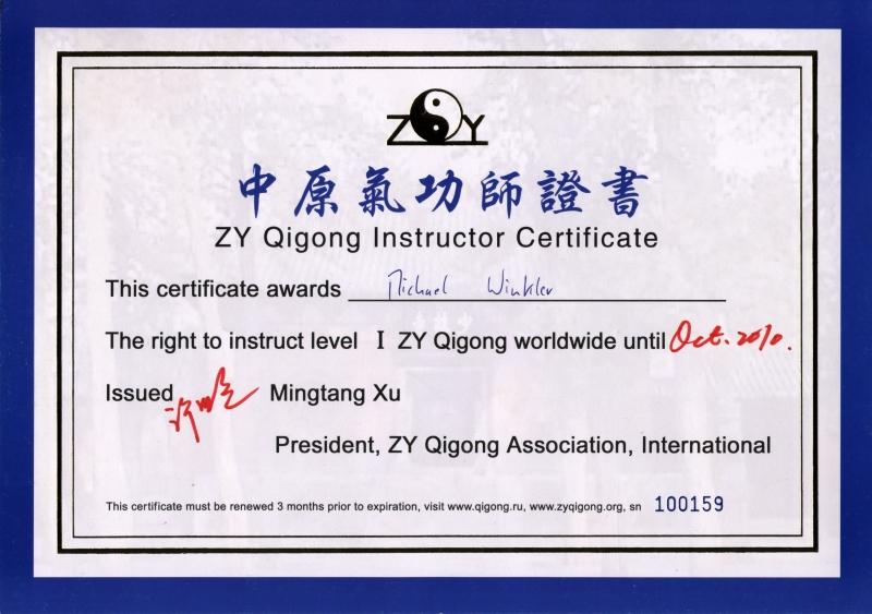 kleiner kreislauf qi gong